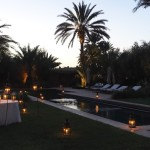 Dar Ahlam twilight pool