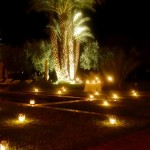 Dar Ahlam at night