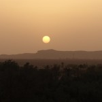 Dar Ahlam sunset