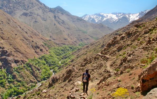 Trekking in High Atlas Mountains