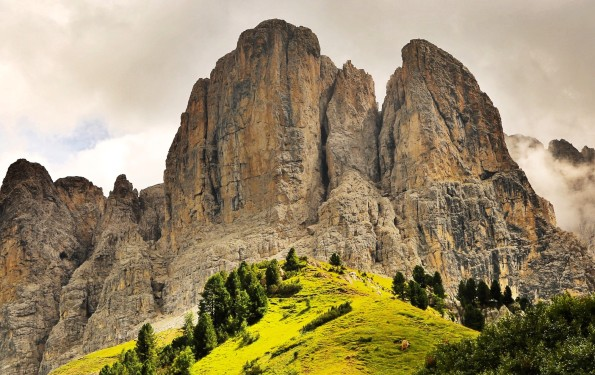 Val Badia mountains