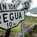 Douro Valley Regua road sign