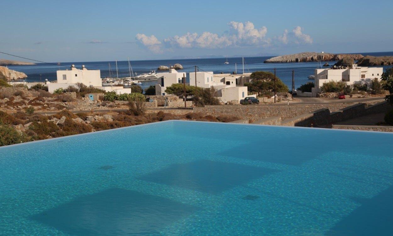 Anemi Hotel pool view