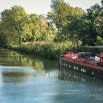 Canal du Midi boat