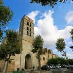 Montolieu church