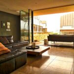 Areias do Seixo townhouse living room