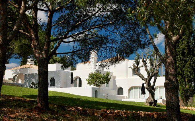 Casa Arte in trees