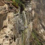 Areias do Seixo waterfall