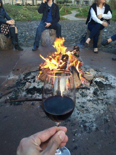 Areias do Seixo wine fire