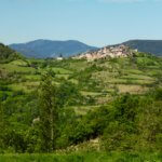 Hilltop town near La Seu d'Urgell