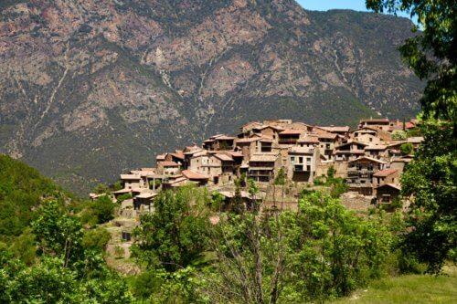 Arsèguel view