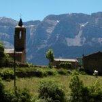 Arsèguel mountain view
