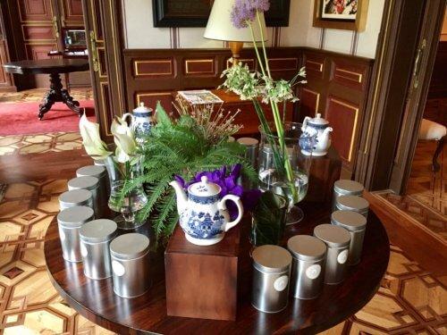 Cotton House Barcelona tea setting