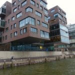 HafenCity hanging buildings