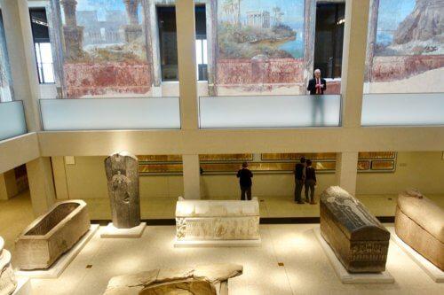 Neues Museum sarcophagus