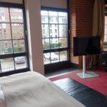 Gastwerk Hotel Hamburg bedroom view