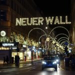 Neuer Wall at Christmas