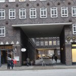 Chilehaus entrance detail