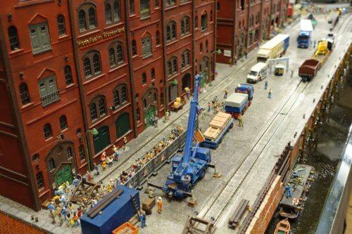 Miniatur Wunderland construction scene
