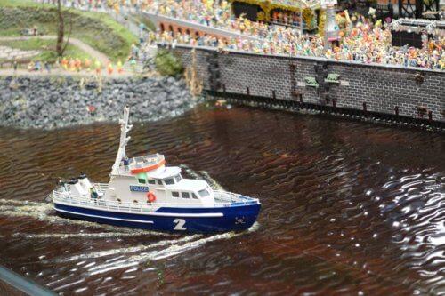 Miniatur Wunderland police boat