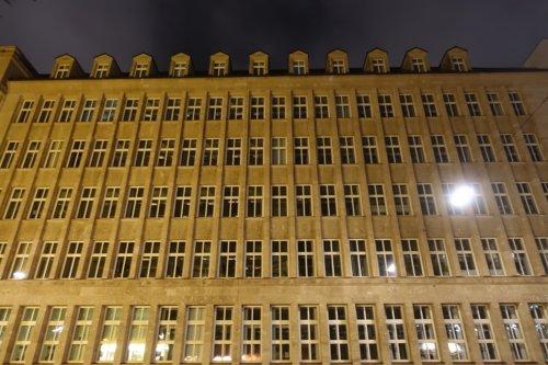 Hamburg large prewar architecture