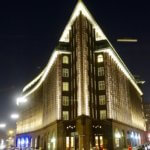 Chilehaus at night