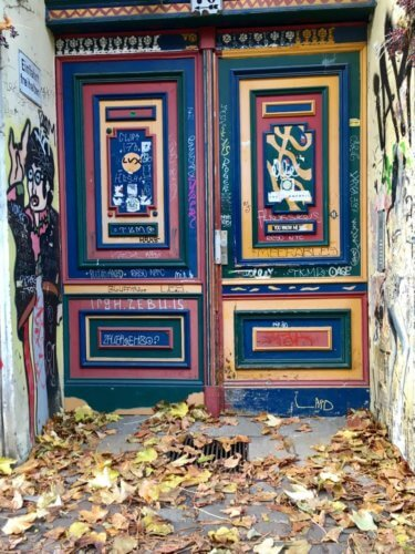 Berlin colorful door