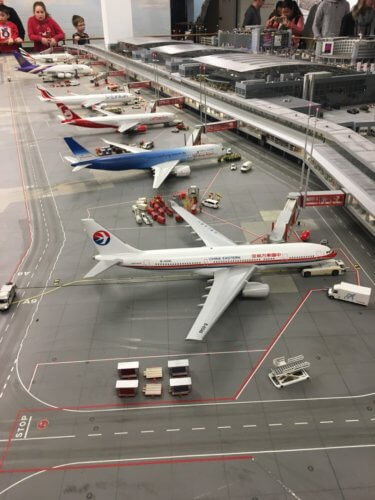 Miniatur Wunderland airport detail