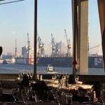 Rive Bistrot Hamburg windows