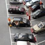 Miniatur Wunderland parking lot detail