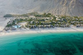 A STUNNING BEACH RESORT ON OMAN'S MUSANDAM PENINSULA