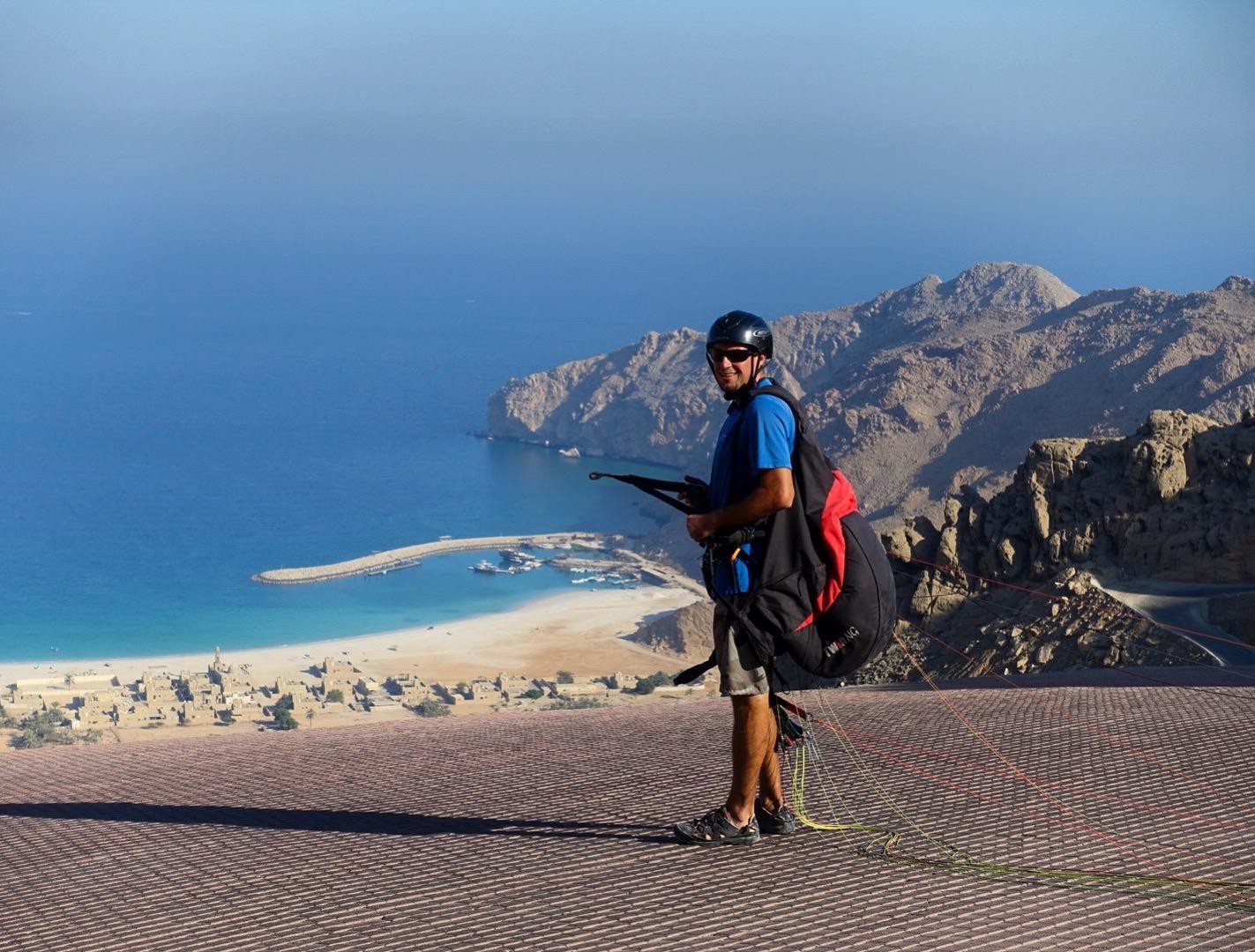 Zighy Bay paragliding