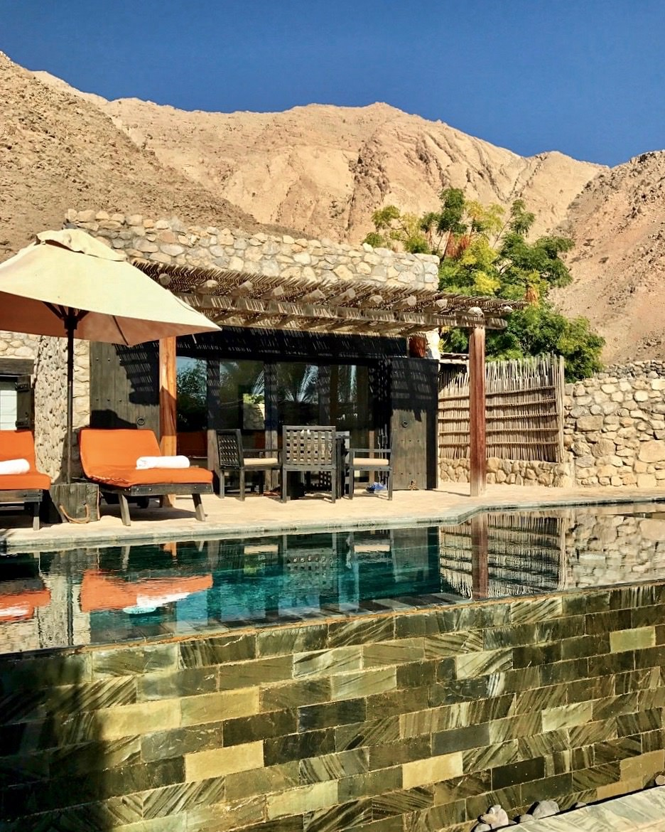 Six Senses Oman private villa and pool
