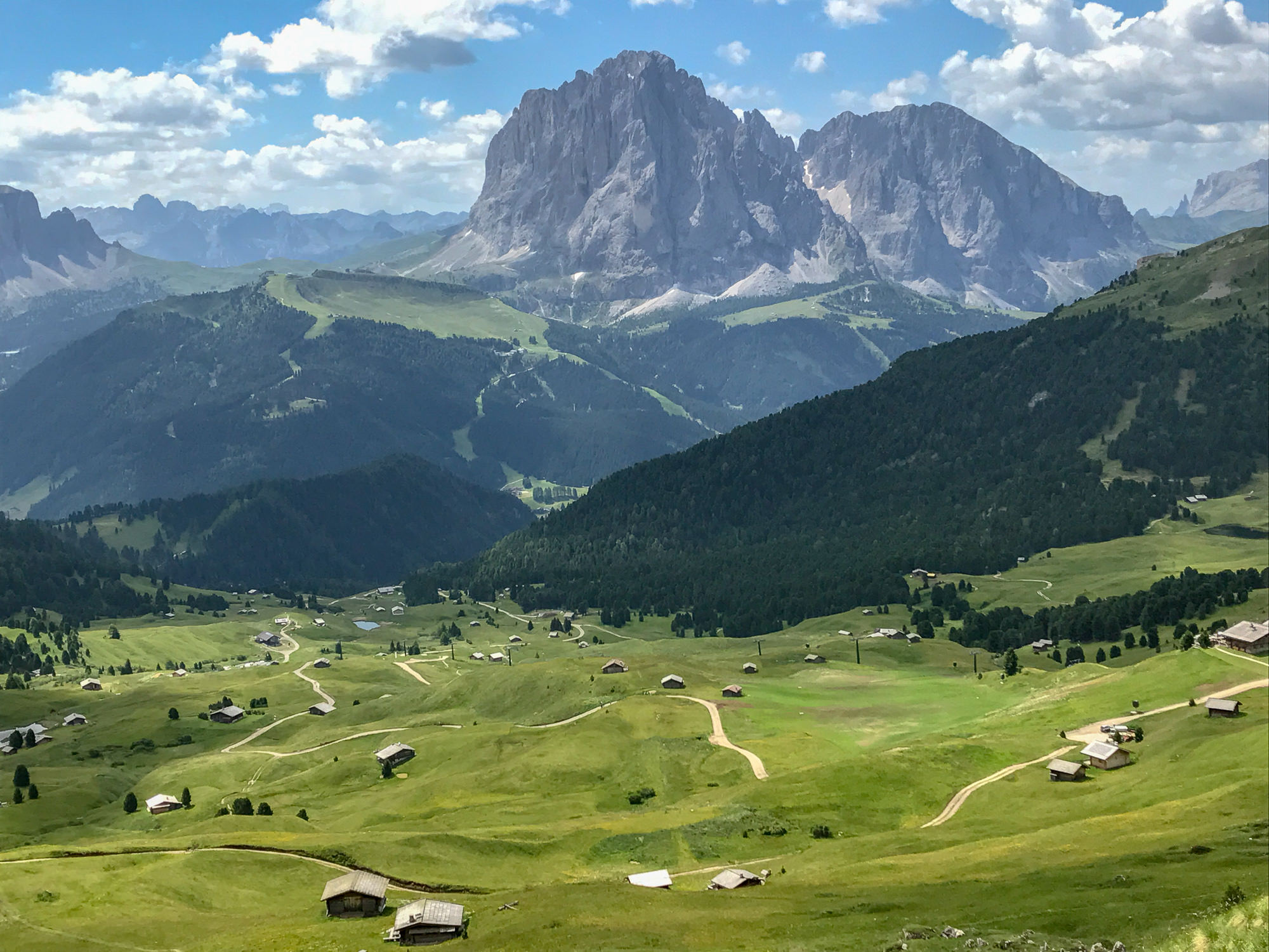 Hiking in the Italian Dolomites