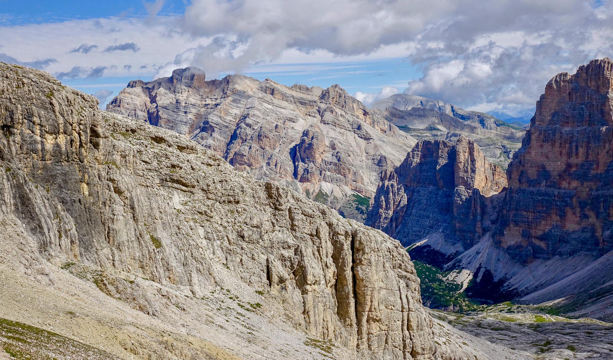 Lagazuoi Dolomites trail