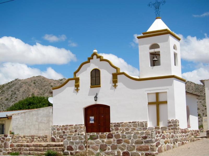 Ruta 40 Salta Argentina church