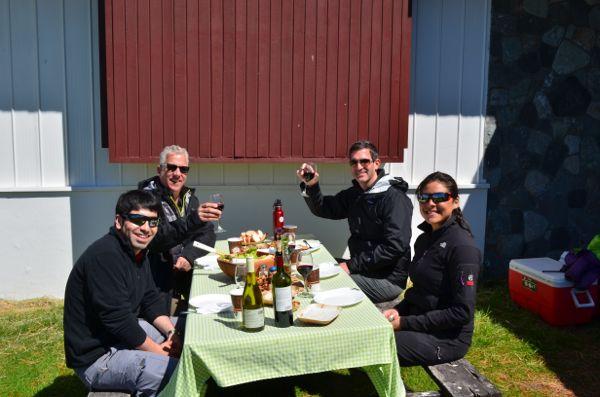 Tierra Patagonia feast