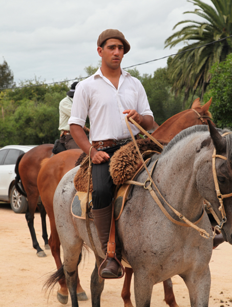 Garzon Uruguay Carnival gaucho rodeo