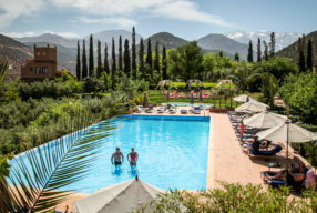 STAY IN A STUNNING KASBAH IN THE ATLAS MOUNTAINS OF MOROCCO