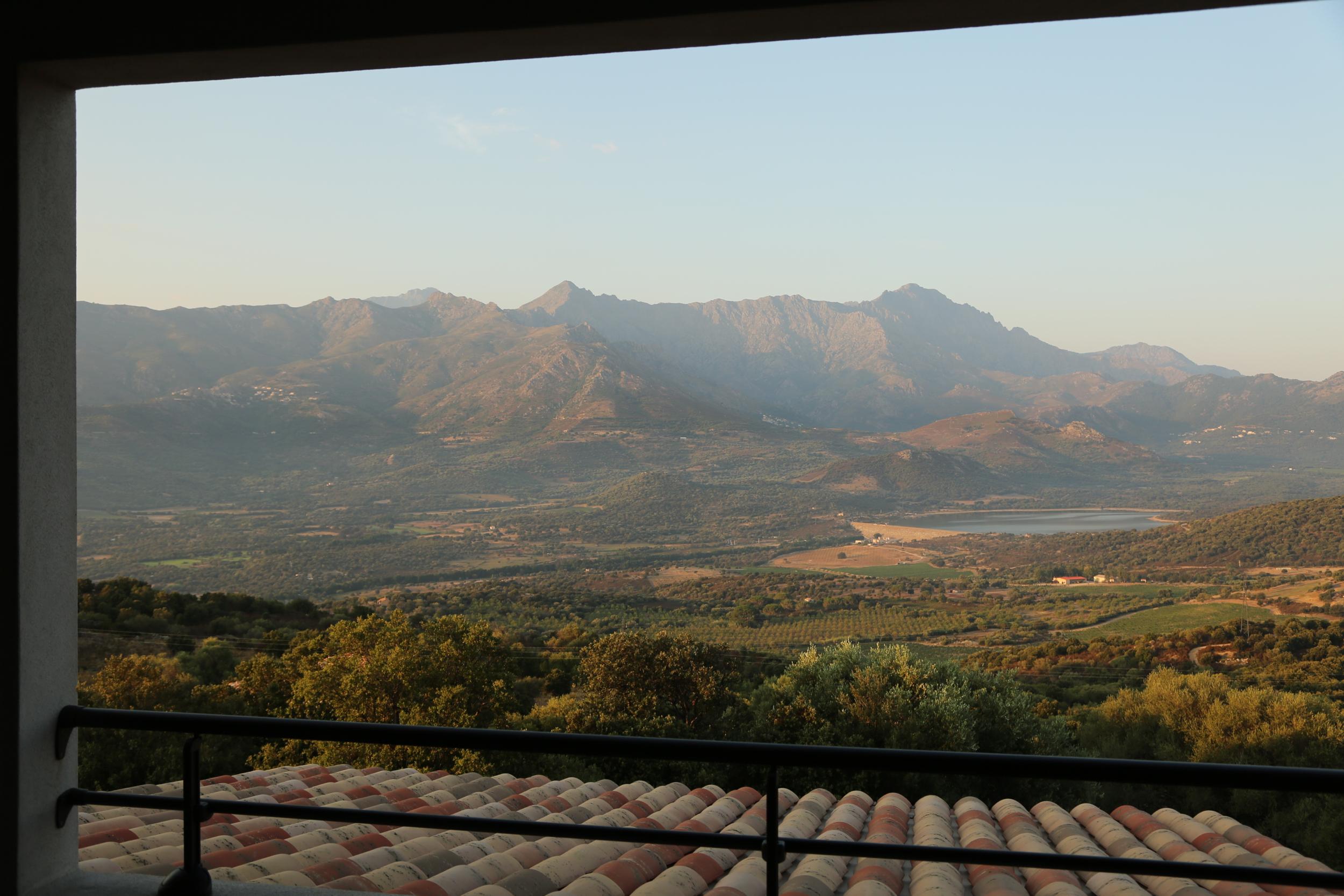 A Piattatella bedroom view