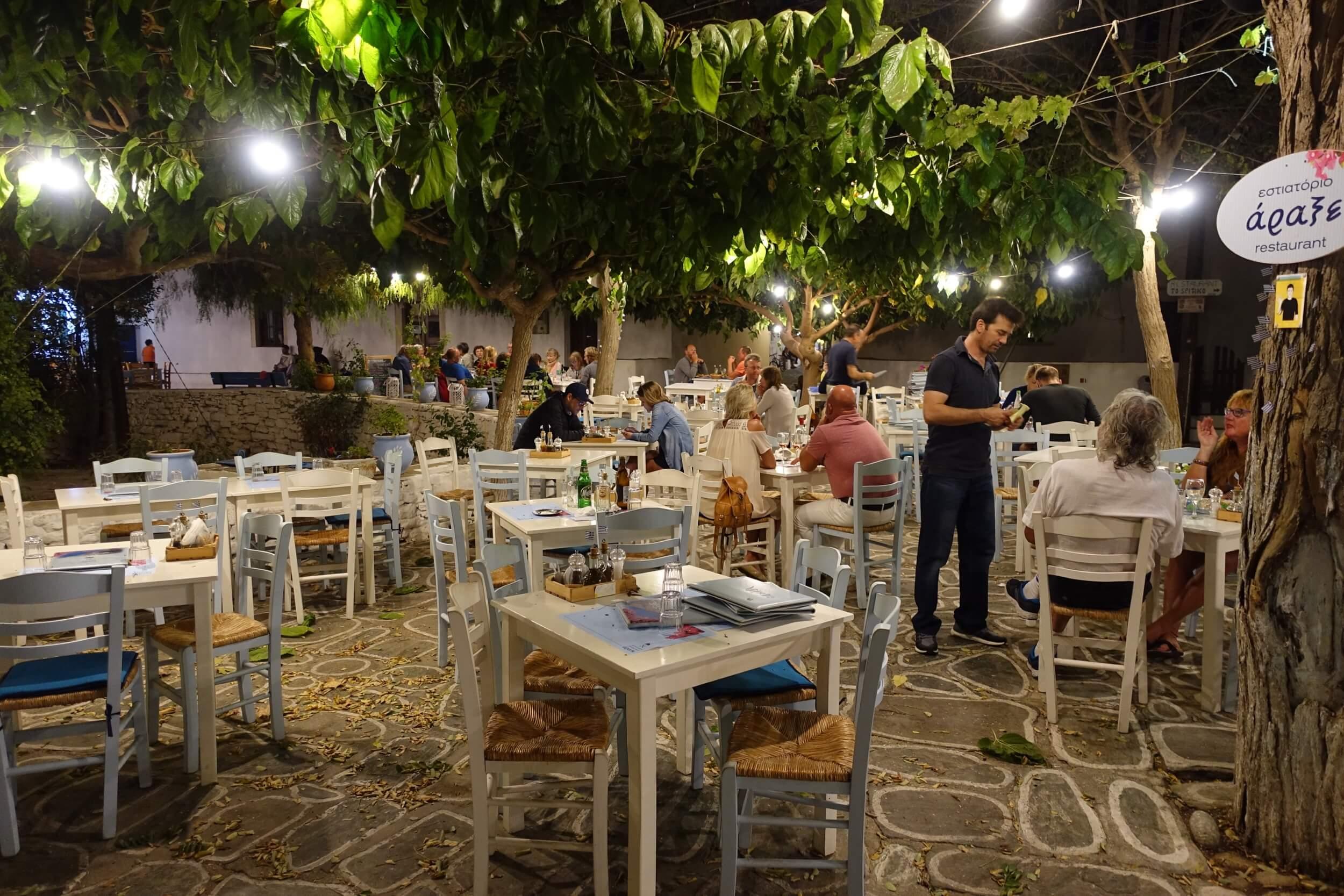 Chora Folegandros night time
