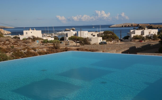 Anemi Hotel pool view
