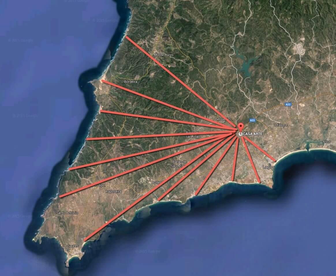 Casa Arte map location