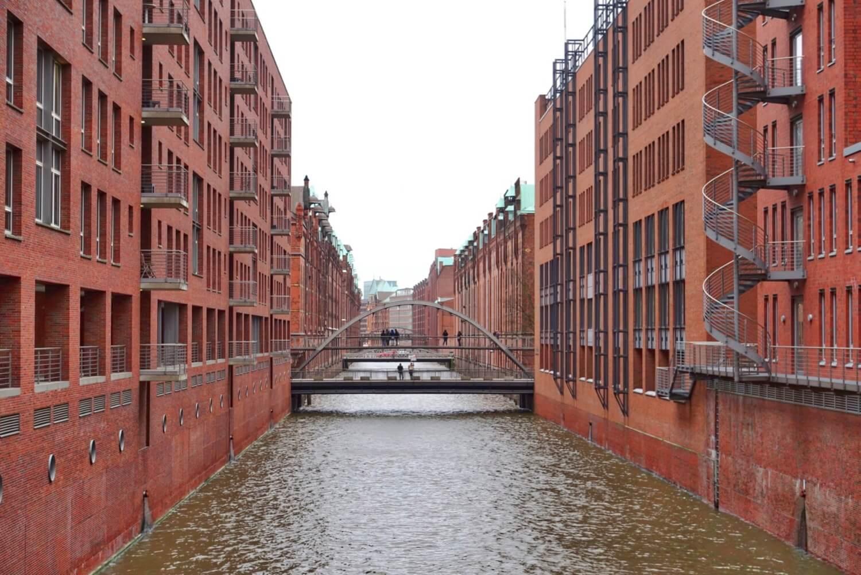 Speicherstadt canal
