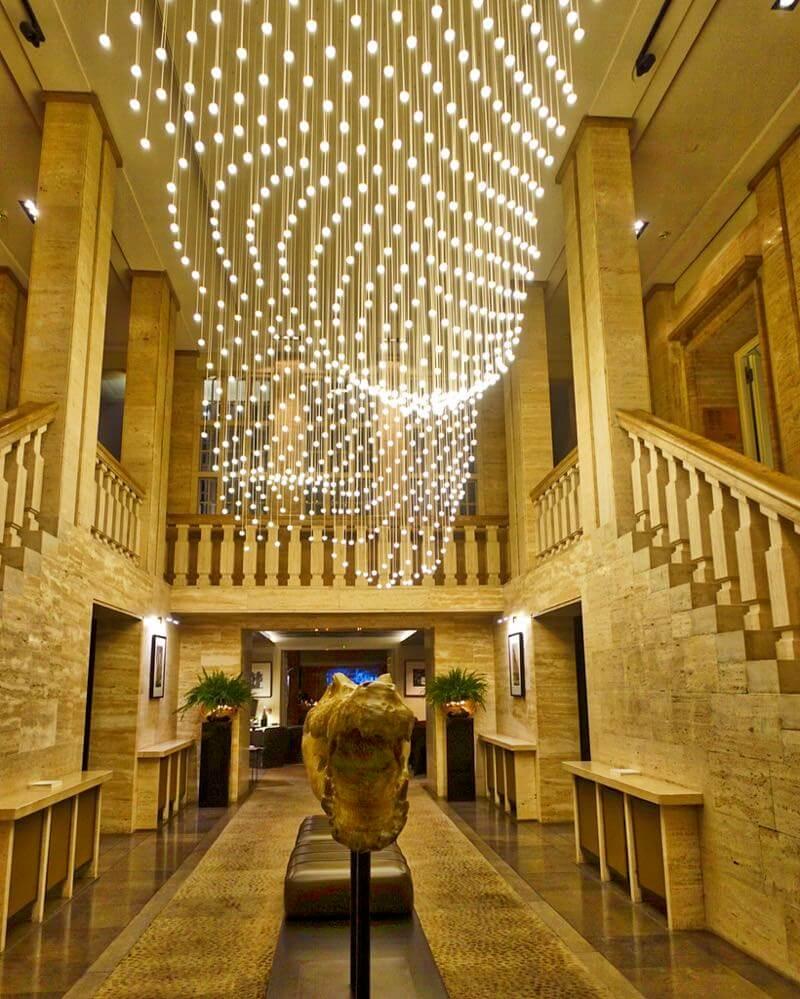 Hotel Das Stue lobby