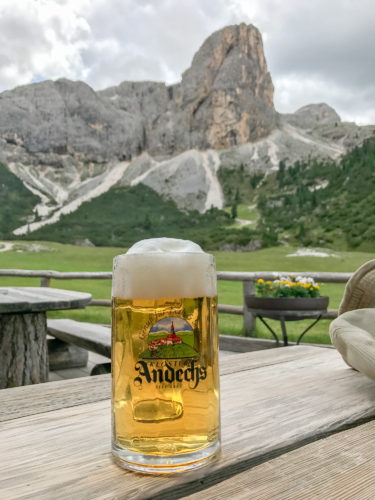 Rifugio Scotoni beer