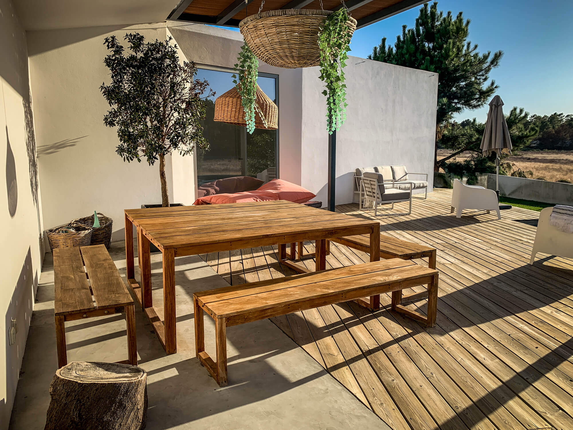 Brejos villa outdoor dining