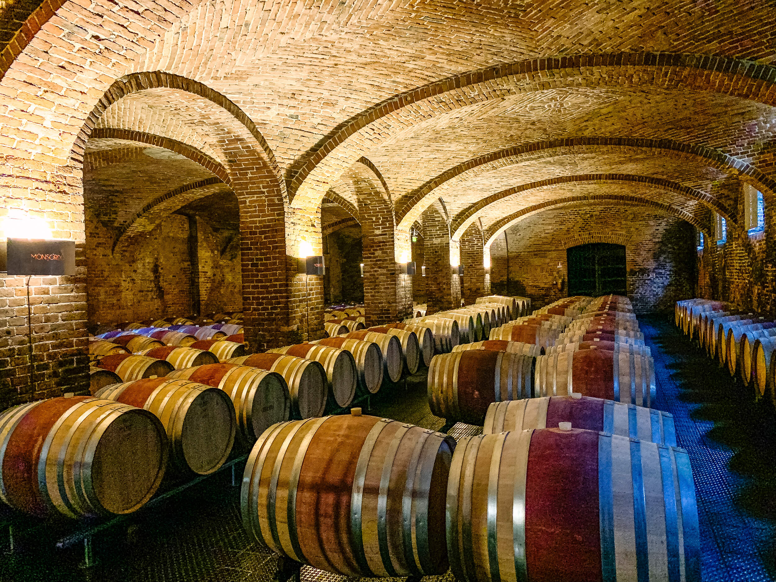Ceretto cellar