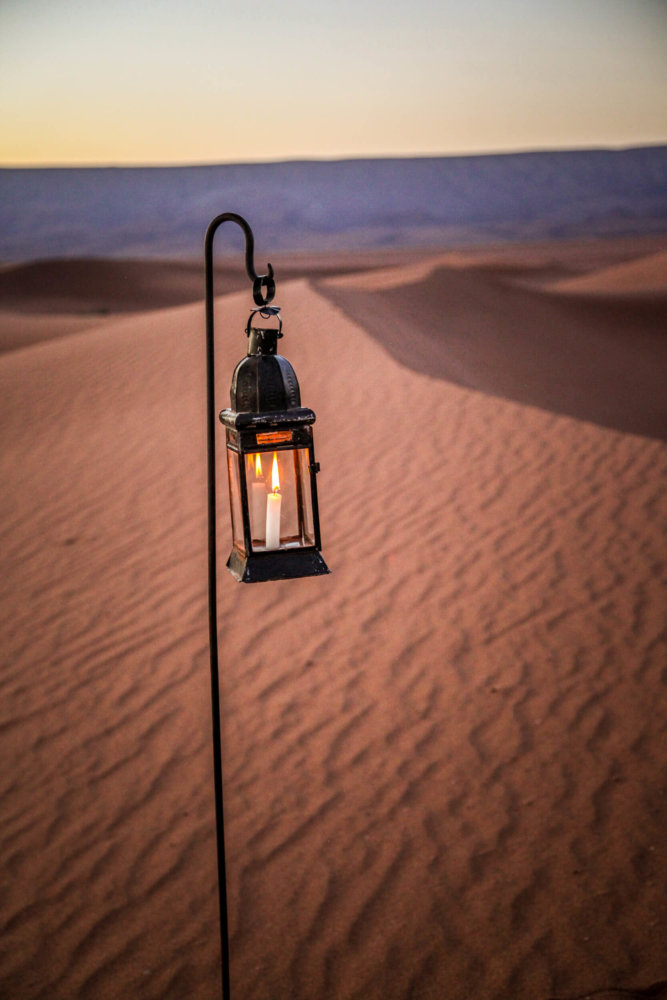 Dar Ahlam candle lantern dune