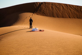 STAY IN YOUR OWN PRIVATE TENT CAMP IN THE SAHARA